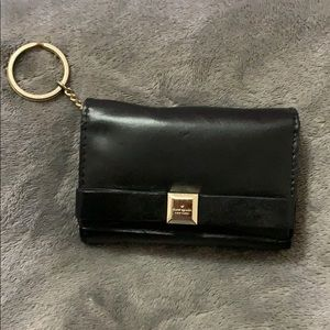 Kate Spade leather wallet with key ring